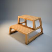 3dsmax step stool