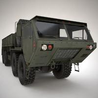 m985 cargo hemtt 3d model