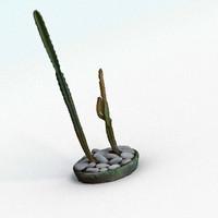 3ds max cactus interior realistic