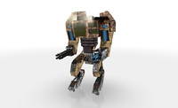 c4d mech robot