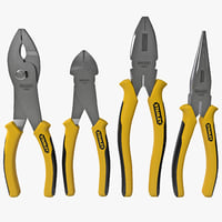 4-Piece Pliers Set Stanley