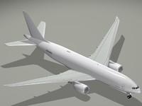 boeing 777-200 777 3d obj