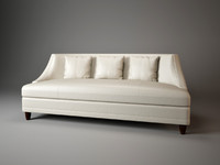 bowmont sofa barbara barry 3d model