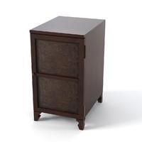 hooker 500-56-867 nightstand 3d max