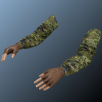 maya person hands