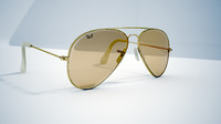 3d ray-ban glass