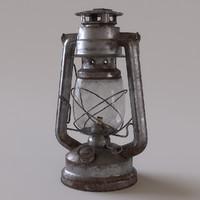 Rusty Storm Lantern