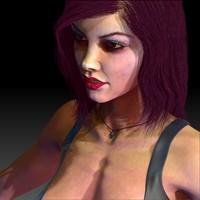 3ds max woman vampire