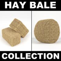 3d hay bale 2