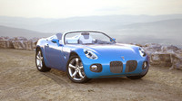 3d model of pontiac solstice