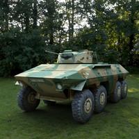 3d model spähpanzer luchs