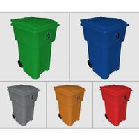 bin waste 3d model