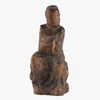 chinese buddha 3d model