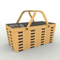 3ds max longaberger basket