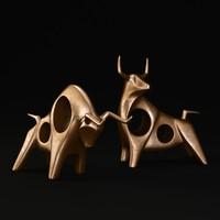 bulls sculpture 3d max