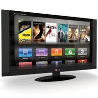 3dsmax lg flatron tv