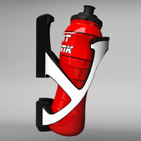 3d bicycle bottle