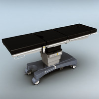 3d operating table model