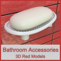 3d obj bathroom accessories