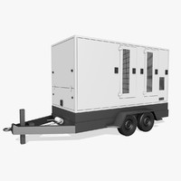 3d trailer generator model