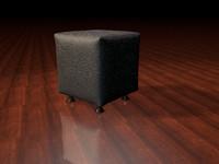 tabouret stool dxf