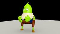 3dsmax jelly guy
