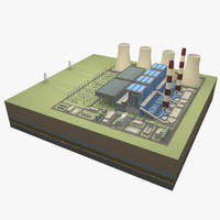 x power station thermal