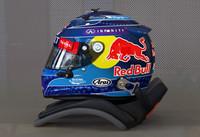 vettel 2013 f1 helmet 3d 3ds