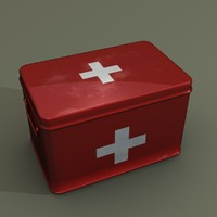 3d medical supplies box