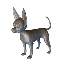 mutant chihuahua 3d model
