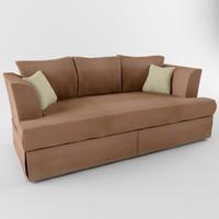 sofa heritage 3d model