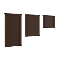 dark wood shutters c4d