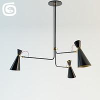 3d simone lamp model