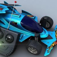 3d remote control car model