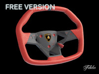 free max mode lamborghini steering wheel