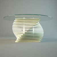 3d daily life coffee table