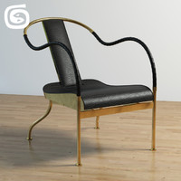 3d model el rey chair -