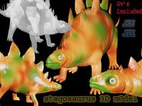 stegosaurus dinosaur max