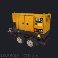 Generator low poly model