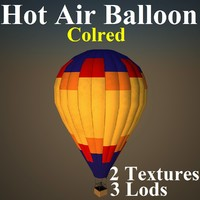 hot air col 3d model