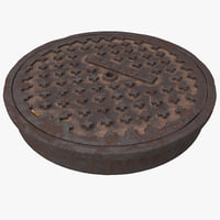 3ds manhole cover