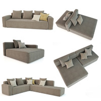 3d model dandy roda sofa
