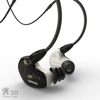 earphones ear 3dm