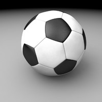 cinema4d soccer ball