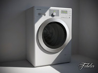 samsung washing machine 3d model