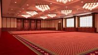 3d balinese ballroom