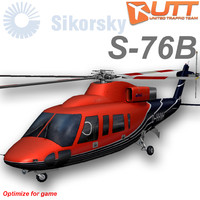 sikorsky heli service 3d model