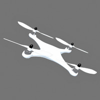 3d model quadcopter