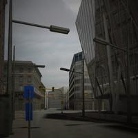 max urban scene building