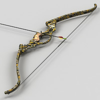 re-curve bow arrow 3ds